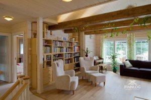 Medinių namų vidaus apdaila