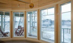rąstinių namų šilumos izoliacija